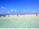 幻想の天国の海サンドバー