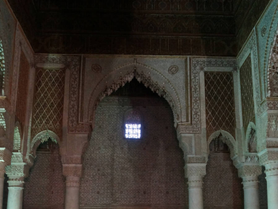 サイード朝の王の墓。