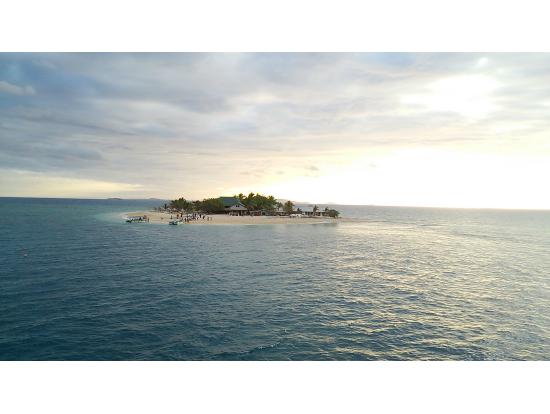 高速船から見たサウスシーアイランド