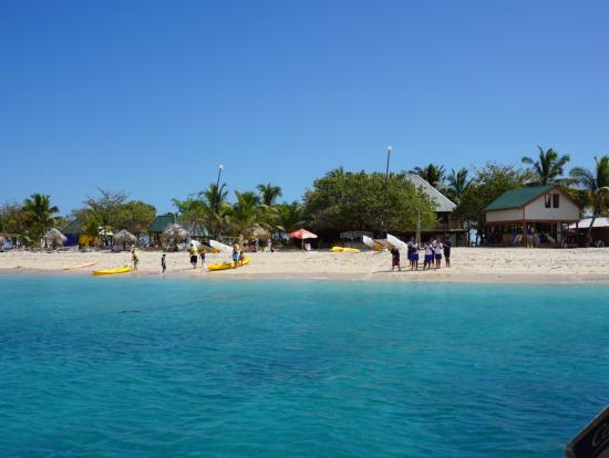 綺麗な島でした。