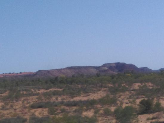 The ghanからの景色