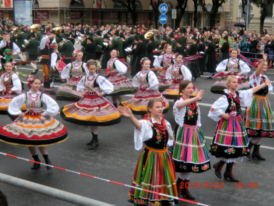 パレード その2 (パレードにはドイツ以外からの参加もあるのでは?)