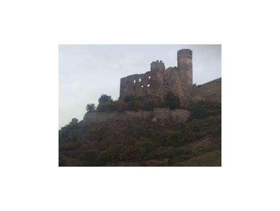 ライン川沿いの古城