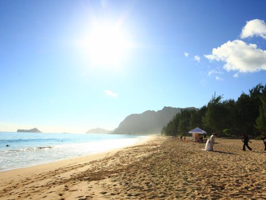カイルアビーチの綺麗さに感動!写真撮影にはもってこいのロケーションです!