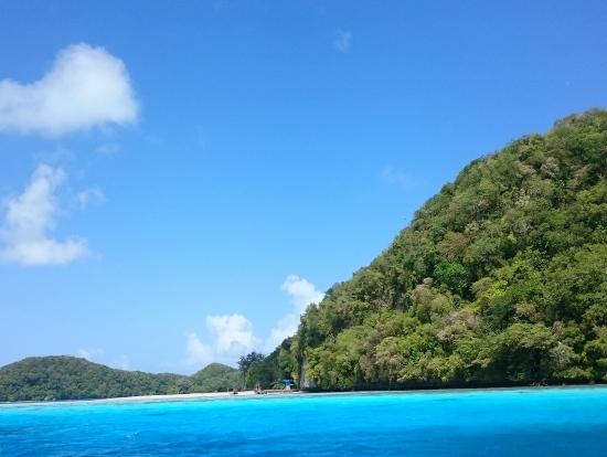 青い海と空・・・・ずーっとみてたい風景