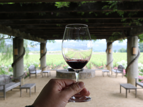 Heitz Wine Cellars ワインも景色も良いです。