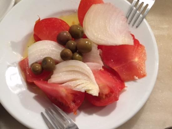 オリーブオイルと塩加減が絶品!