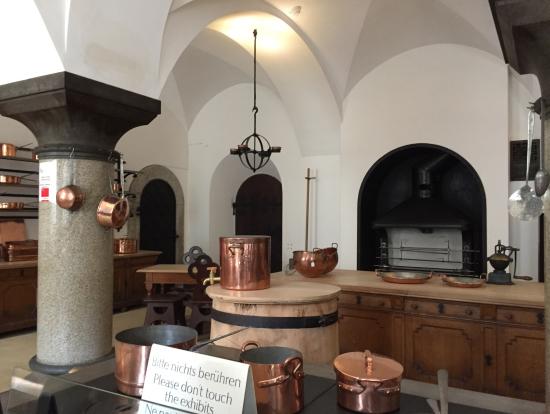 ノイシュバンシュタイン城のキッチン