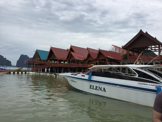 パニー島の水上町
