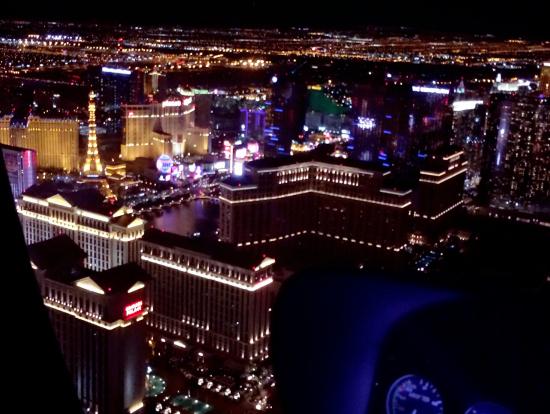 ラスベガスの夜景はすごい