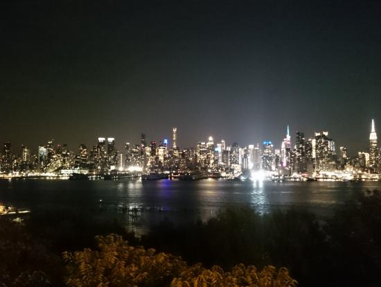 バッテリーパークからの夜景