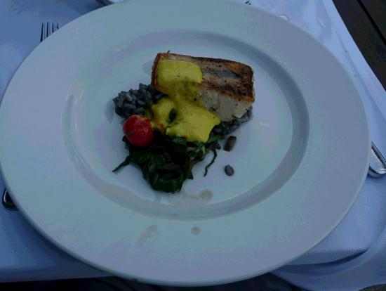 夫:白身魚の料理