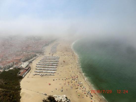 ナザレの美しい海岸