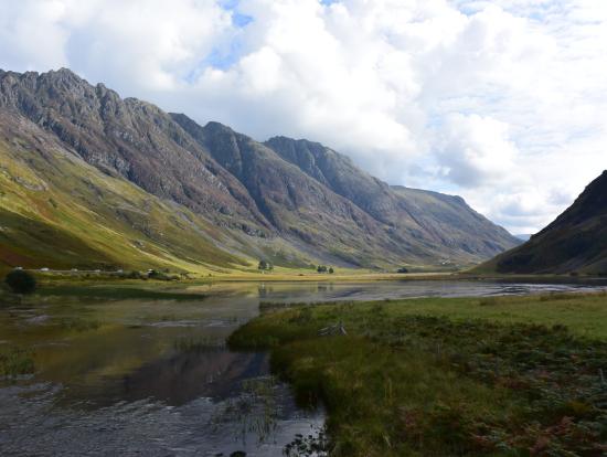 ハイランドの景色