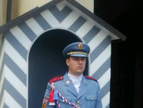 プラハ城 衛兵
