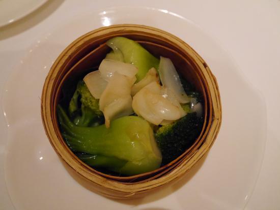 ユリ根と青梗菜って相性ばっちり。