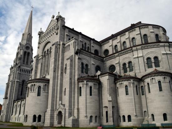 サンタンドボープレ教会(側面)