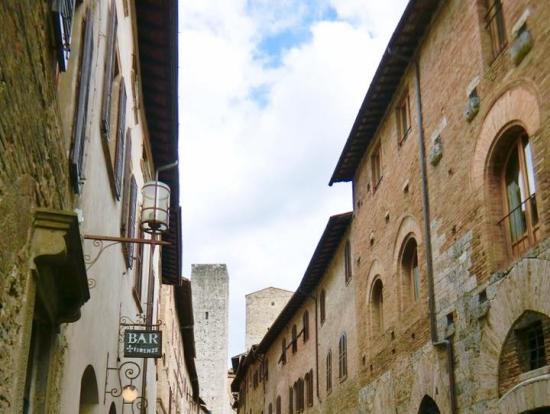 塔の町、サンジミニャーノ。こちらも世界遺産
