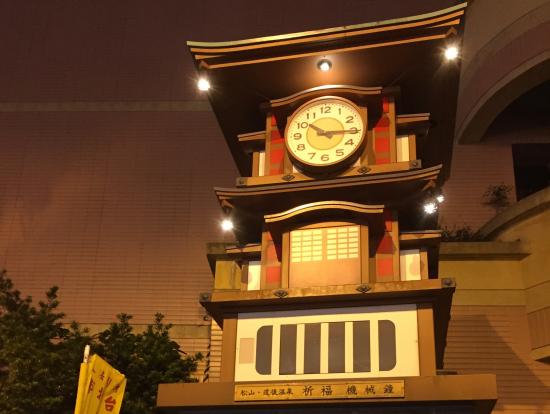 松山駅に愛媛県が寄贈したみたい♪