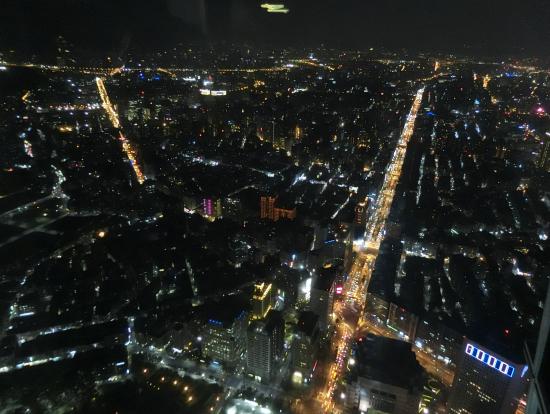 台北101 89階からの夜景☆