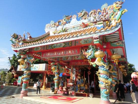 極彩色の寺院