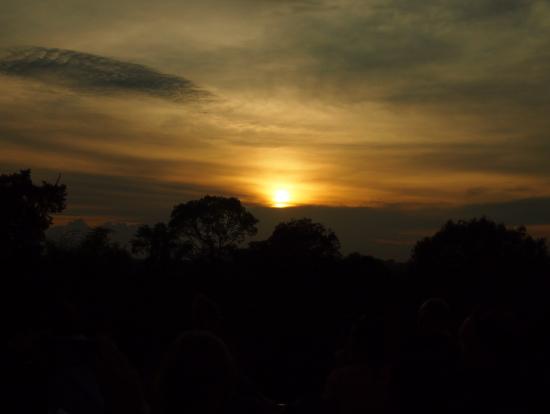 プレループからの夕日