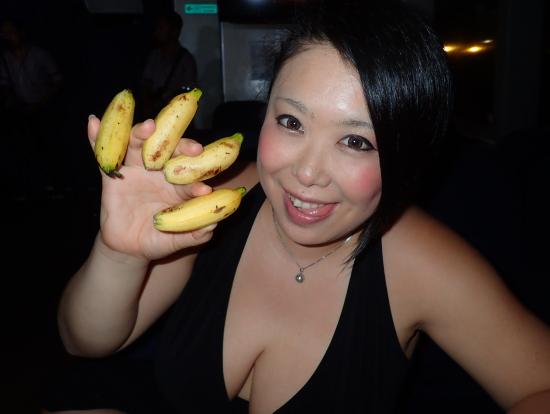 ここのミニバナナ