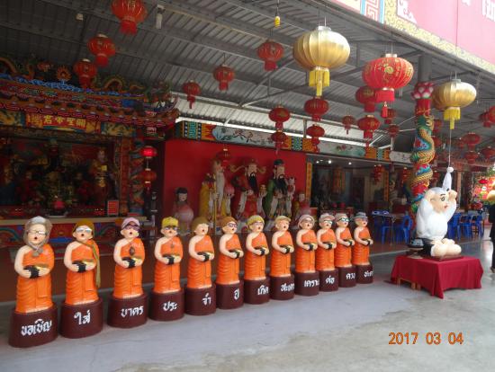 ワットサマーン寺院 ガネーシャ以外にも、色々キャラクターがいます