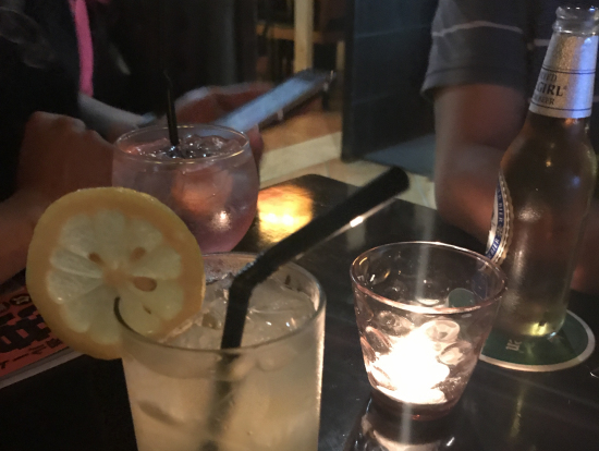 ノンアルコールのフルーツパンチ