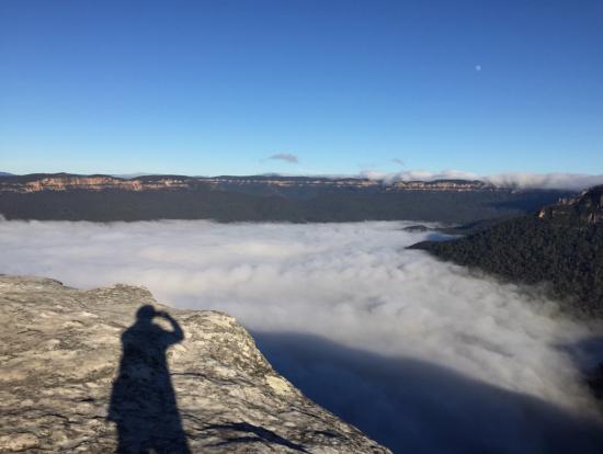 ブルーマウンテン雲海。空気が澄んでて気持ちいい!