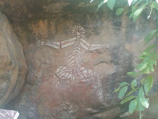 アボリジニの岩絵・精霊
