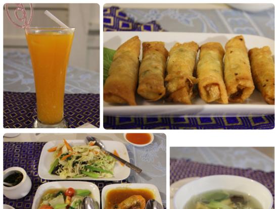 昼食は中華料理(選べませんでした。1日目がミャンマー料理だったからかな)