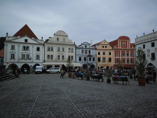 チェスキークルムロフ中央広場