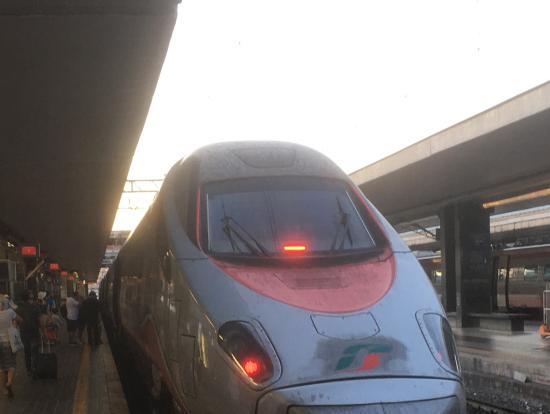 ローマからフィレンツェまでの列車