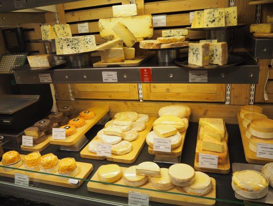 美味しいチーズがいっぱいです
