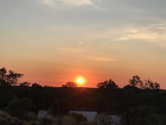 日の出もバッチリ