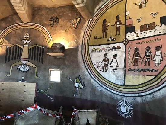 ナバホ族の絵