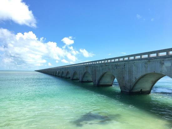 7マイルブリッジの古い橋