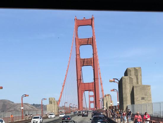 金門橋を渡ってマリンカウンティへ