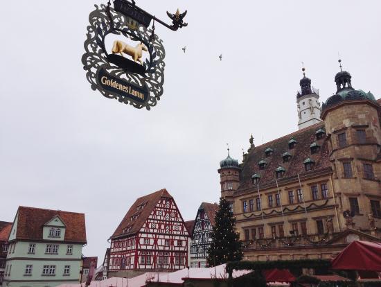 ローテンブルクの街並み