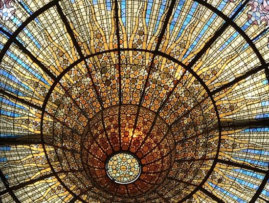 天井ステンドグラス