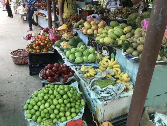 新鮮なフルーツがいっぱい