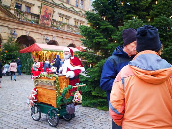 サンタさん♪ローデンブルクにて。