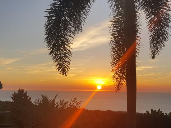 ハワイ島のサンセット