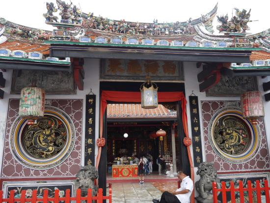 青雲亭の門