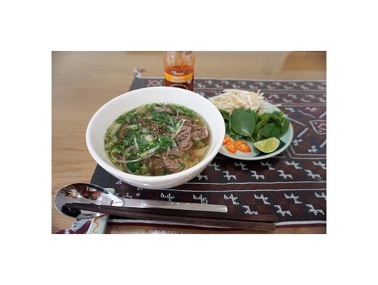 スープから作る手作りフォーは格別のお味♪
