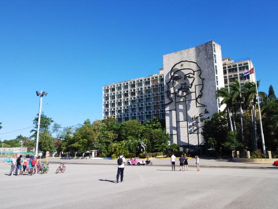 革命広場です。