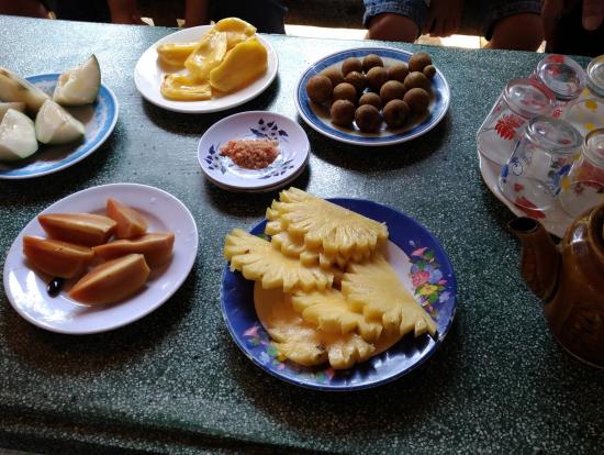 南国感満載のフルーツ