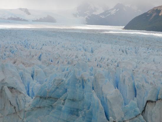 ペリト・モレノ氷河(展望台より)