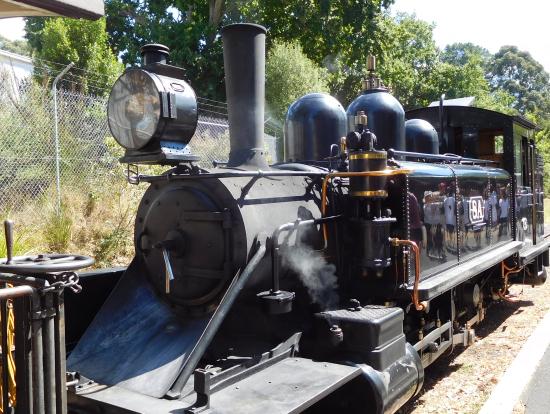 パッフィンビリー蒸気機関車